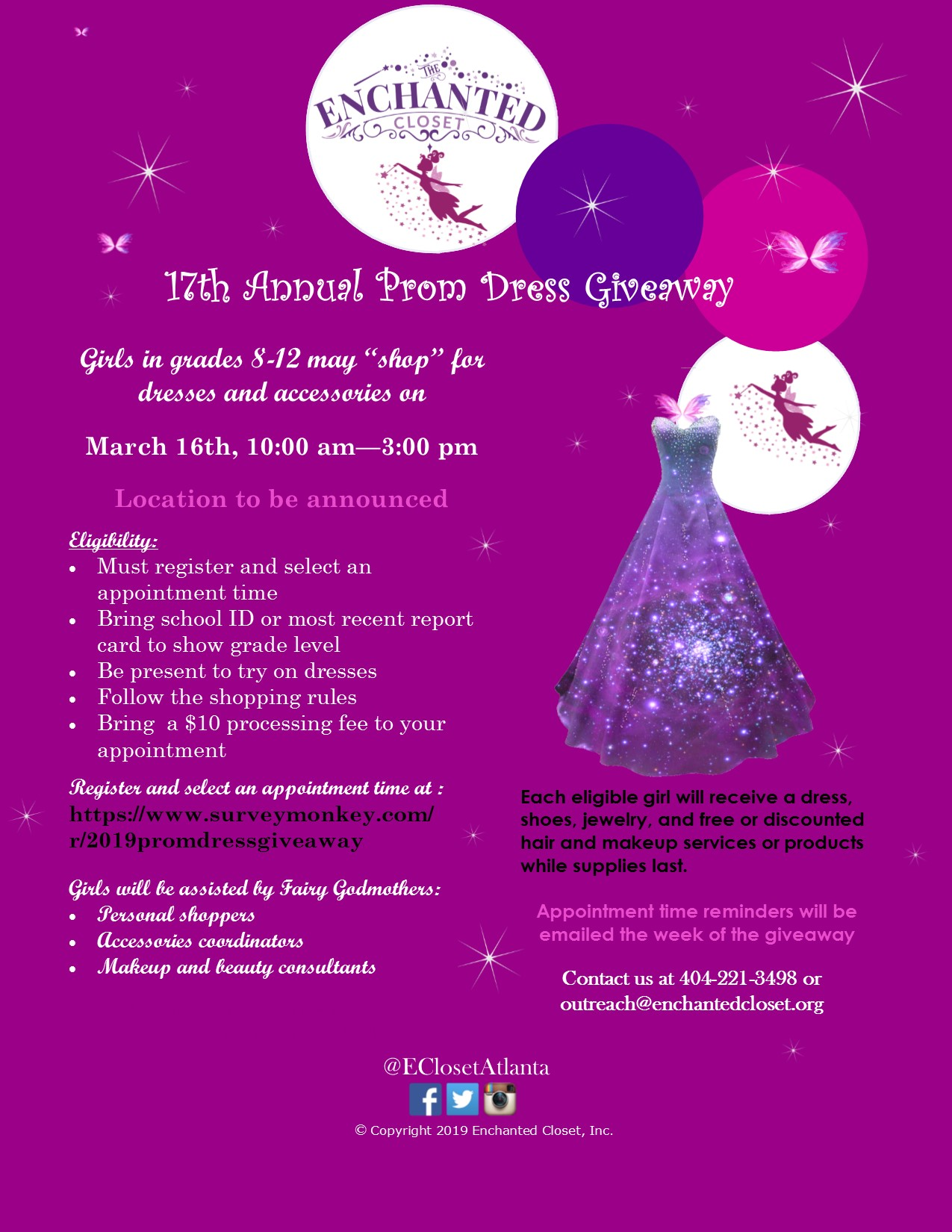 3d269a1864a Prom Dress Giveaway – The Enchanted Closet